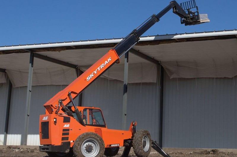 Telescopic Forklift Controls : Jlg skytrak telescopic forklift humsnlr
