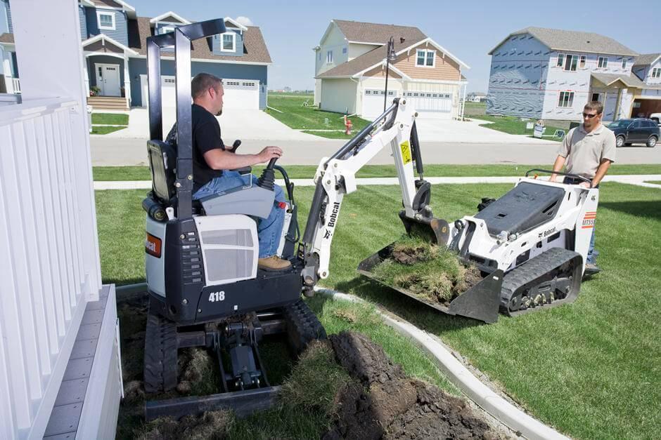 Bobcat 418 Compact Excavator