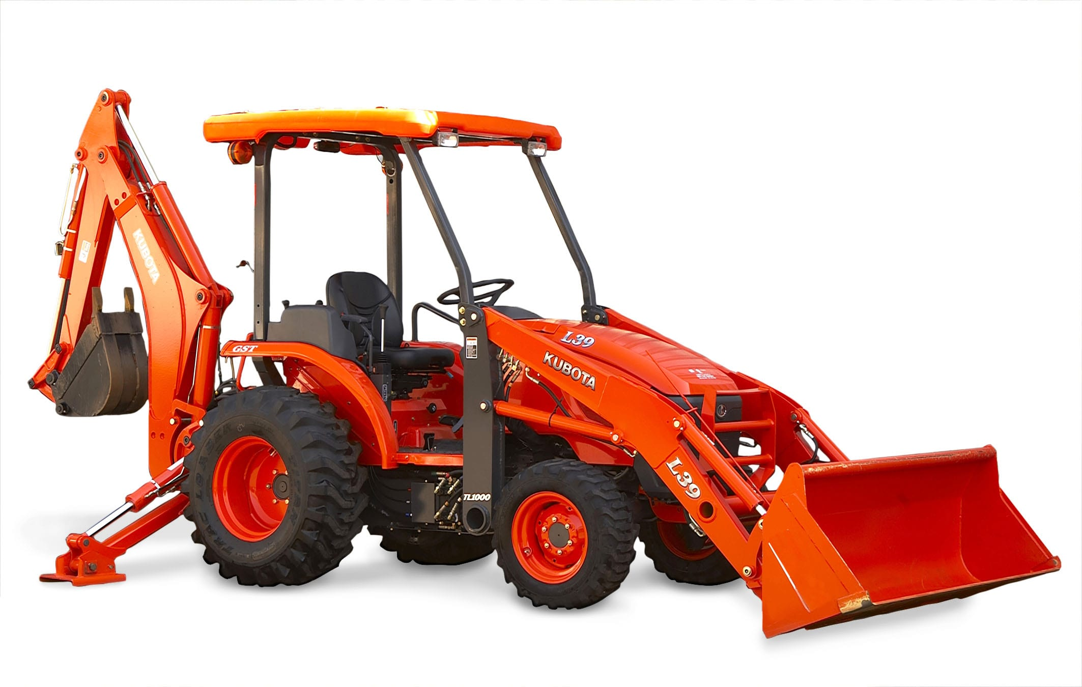 Kubota L39 Loader Backhoe
