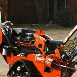 Ditch Witch RT12 Walk-Behind Trencher