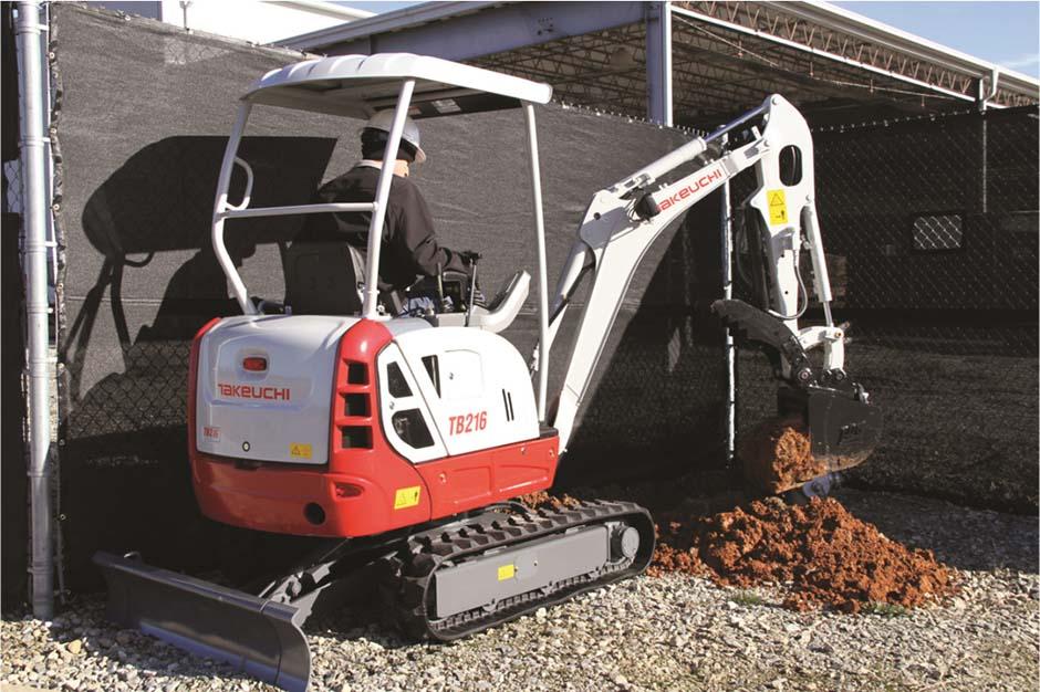 Takeuchi TB240 Compact Excavator | HumsNLR