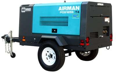 MMD EQUIPMENT AIRMAN PDS185S-6E1 AIR COMPRESSOR